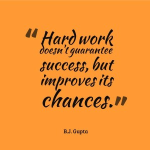 Hard Work Does Not Guarantee