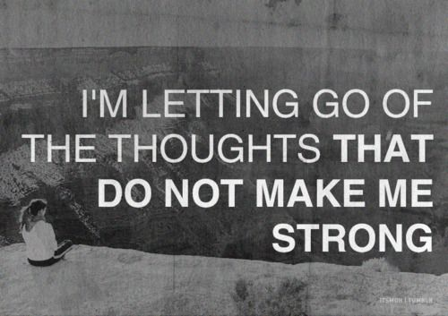 Letting Go of Thoughts