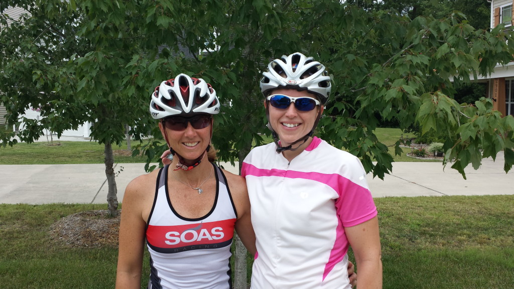 Susanne put in some serious miles with me over the past several months.  She has been a tremendous support!!