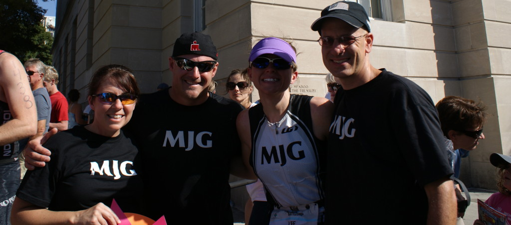 The MJG support crew at B2B Half