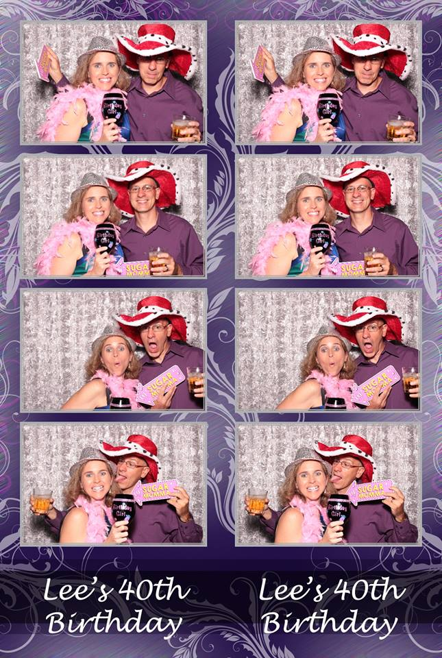 Photo Booth - Lee & Tony